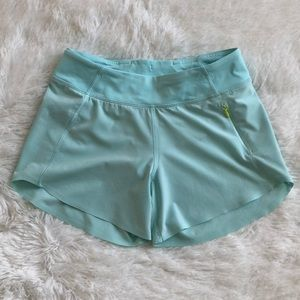 Ivivva light teal running short